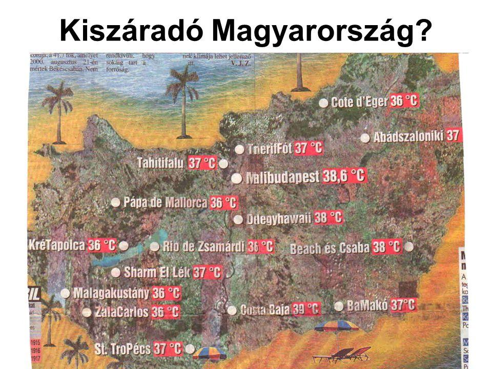 Kiszáradó Magyarország