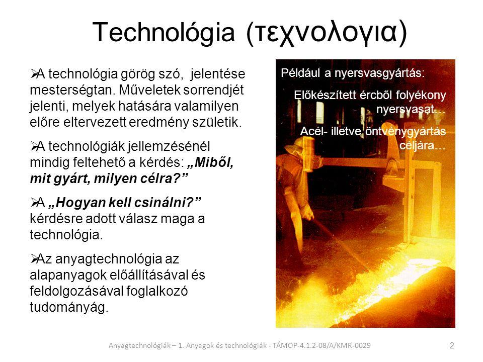 Technológia (τεχνολογια)