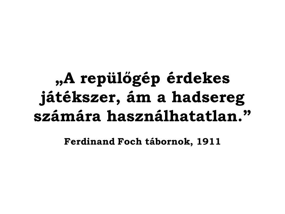 Ferdinand Foch tábornok, 1911