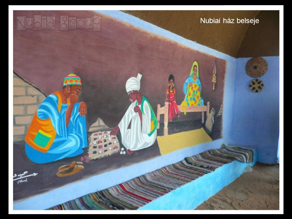 Nubiai ház belseje