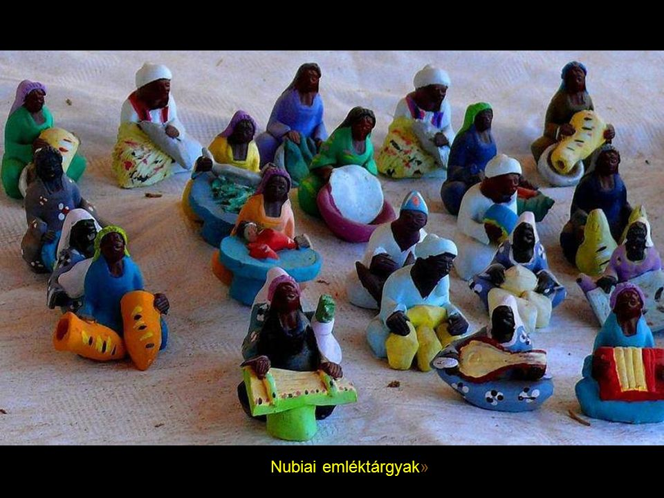 Nubiai emléktárgyak»