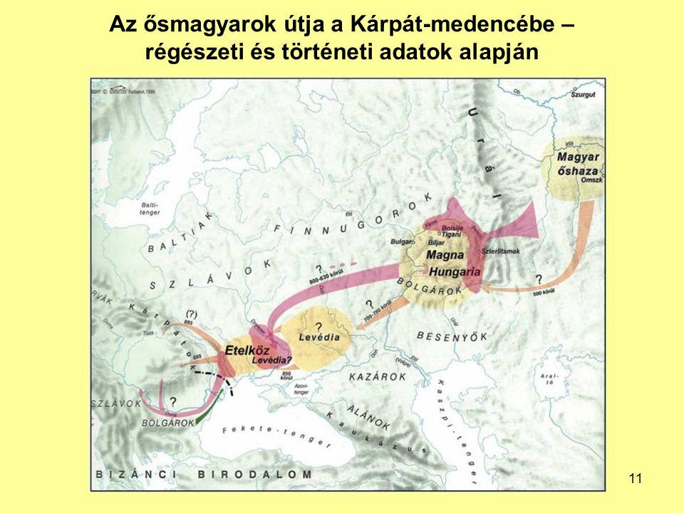 Az ősmagyarok útja a Kárpát-medencébe – régészeti és történeti adatok alapján