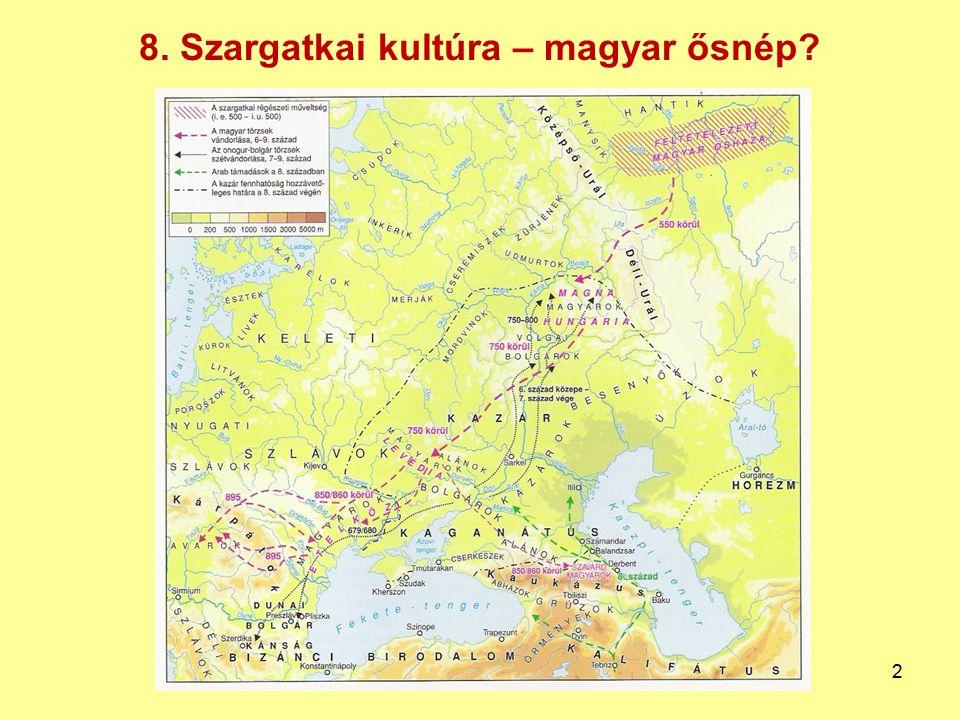 8. Szargatkai kultúra – magyar ősnép