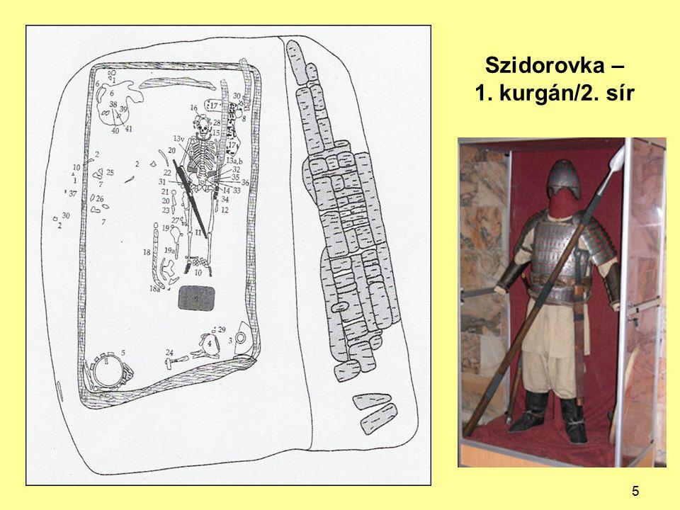 Szidorovka – 1. kurgán/2. sír