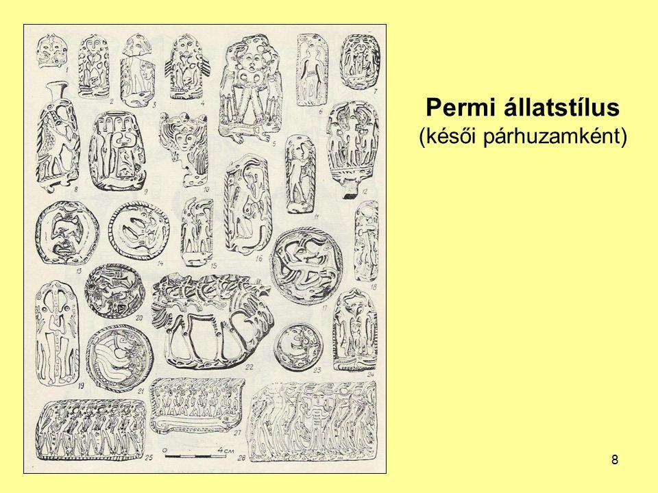 Permi állatstílus (késői párhuzamként)