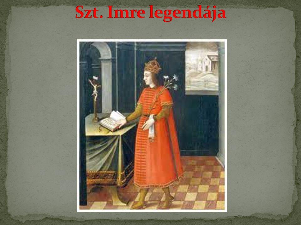 Szt. Imre legendája