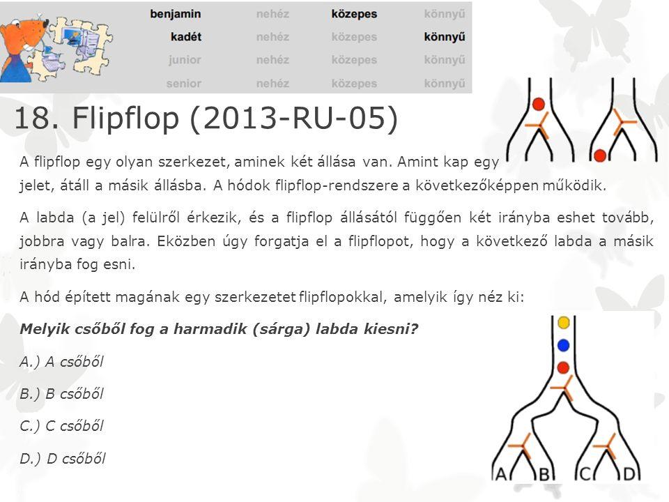 18. Flipflop (2013-RU-05)