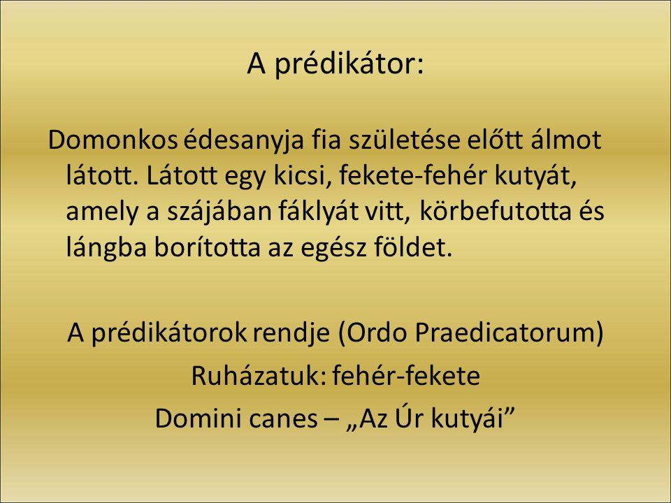 A prédikátor: