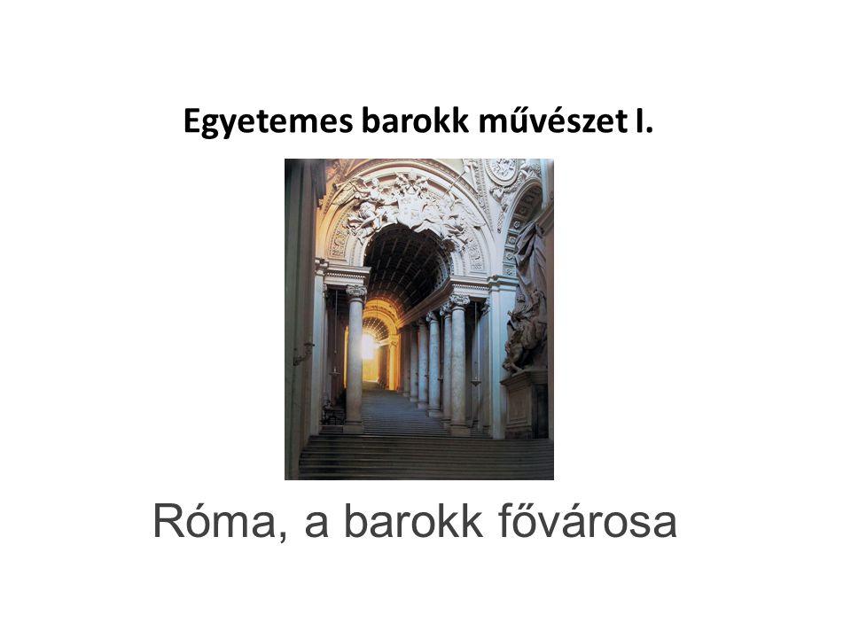 Egyetemes barokk művészet I.
