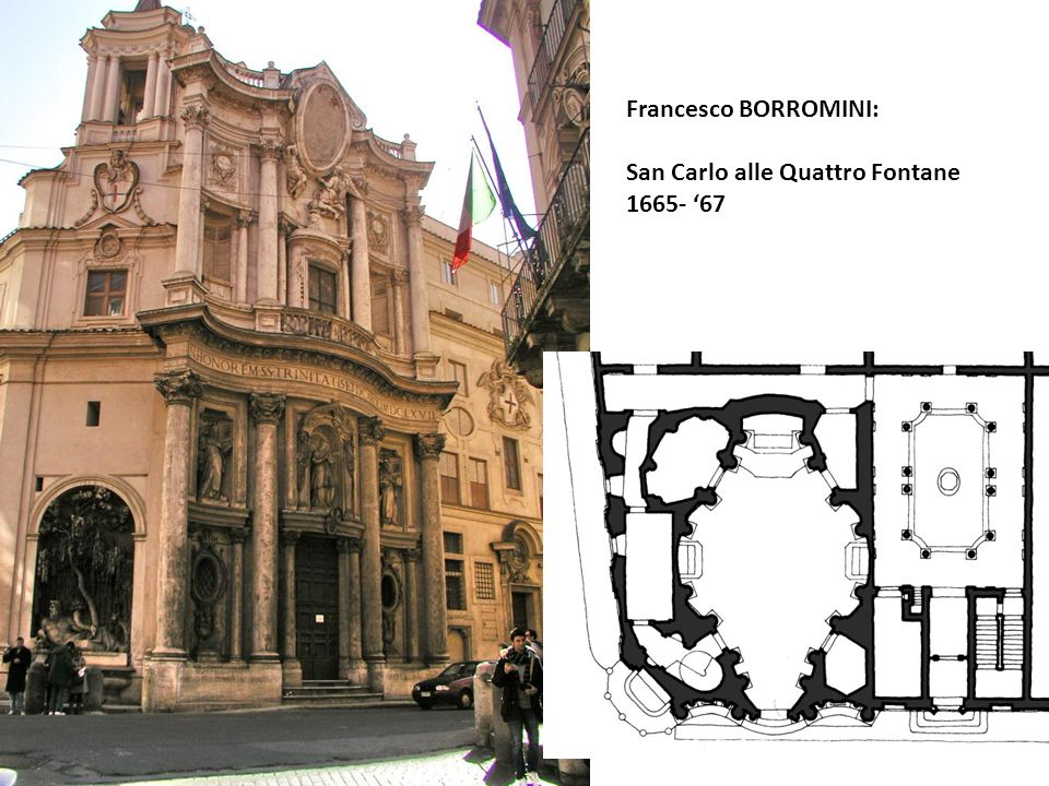 Francesco BORROMINI: San Carlo alle Quattro Fontane 1665- '67