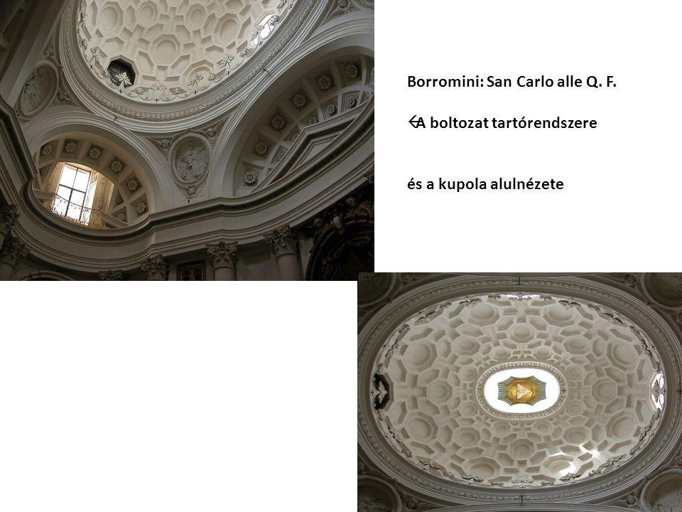 Borromini: San Carlo alle Q. F.