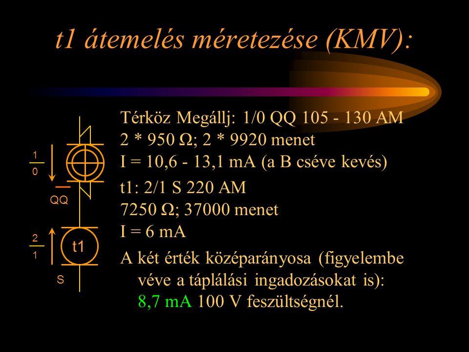 t1 átemelés méretezése (KMV):