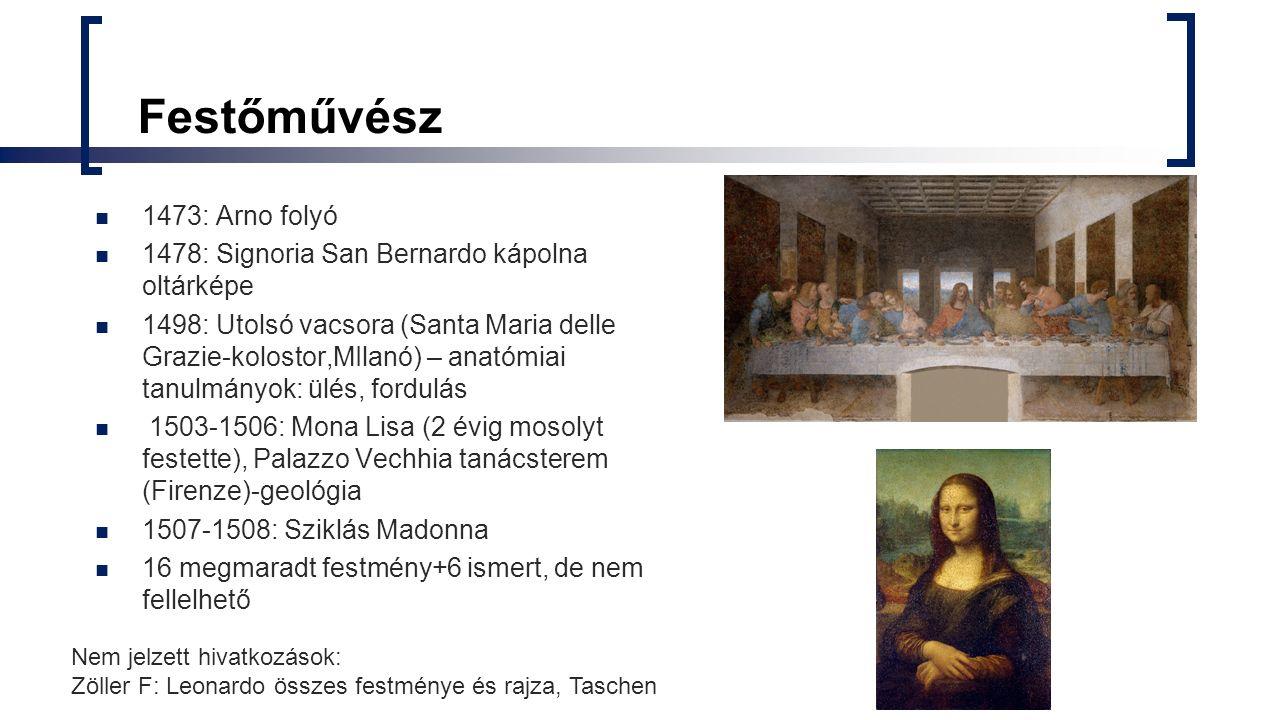 Festőművész 1473: Arno folyó