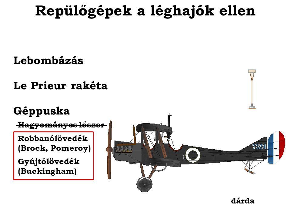 Repülőgépek a léghajók ellen