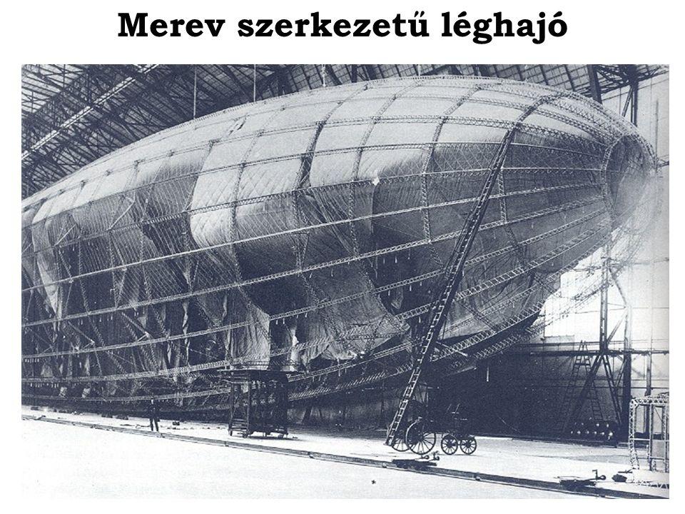 Merev szerkezetű léghajó