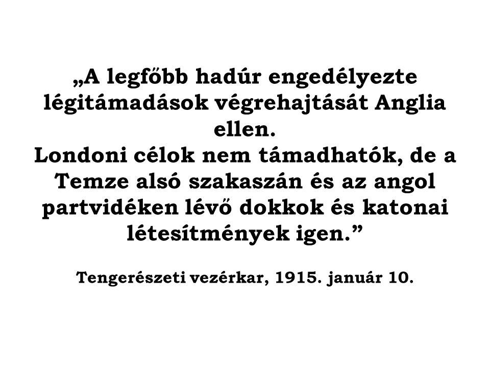 Tengerészeti vezérkar, 1915. január 10.