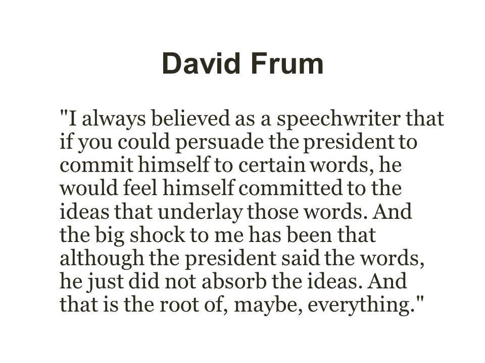 David Frum