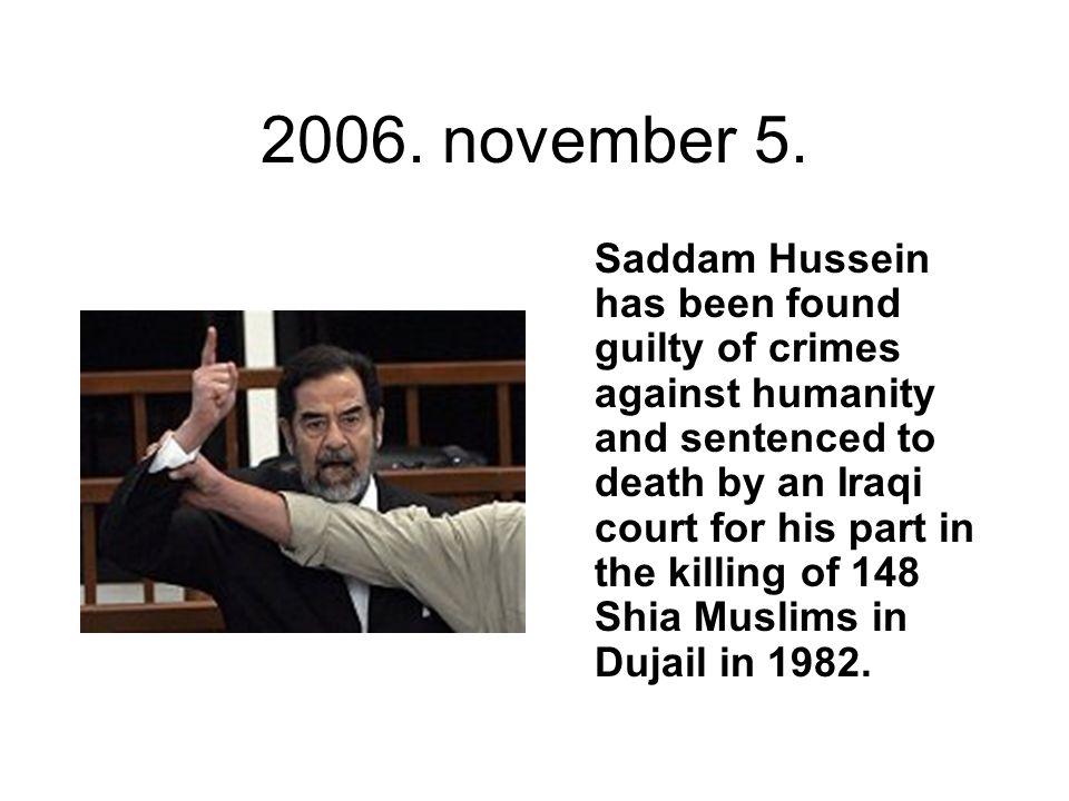 2006. november 5.