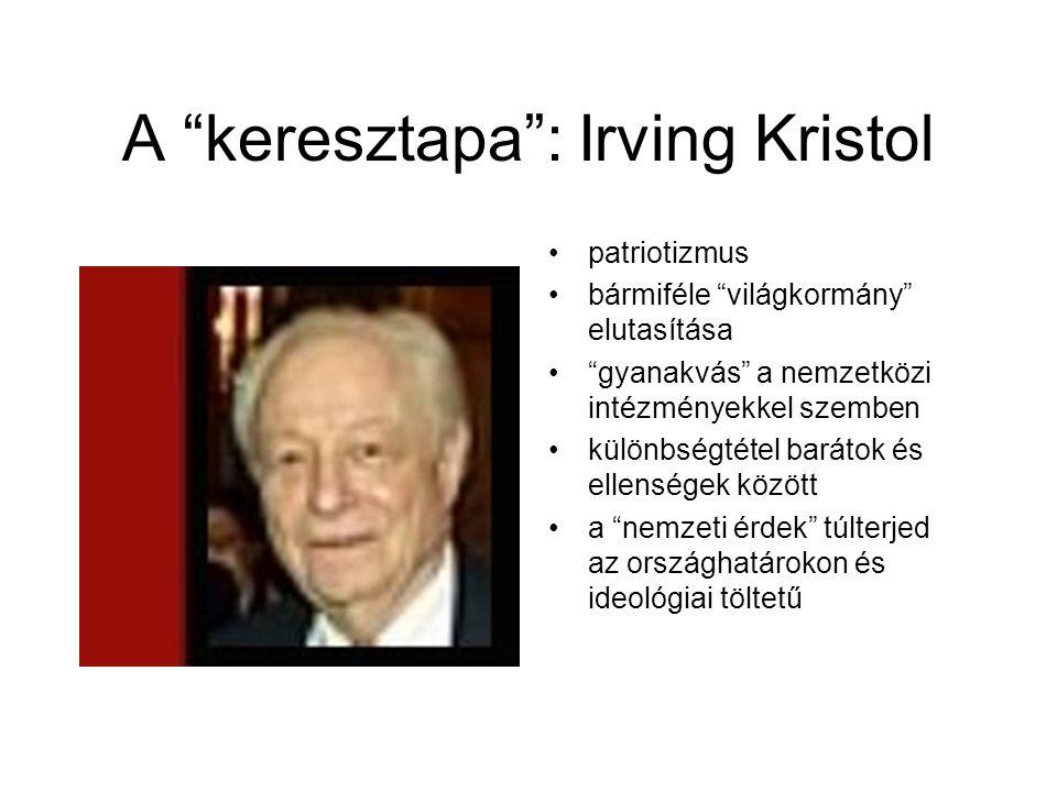 A keresztapa : Irving Kristol