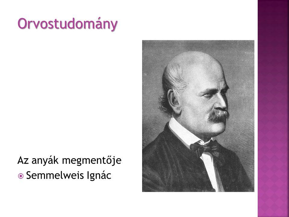 Orvostudomány Az anyák megmentője Semmelweis Ignác