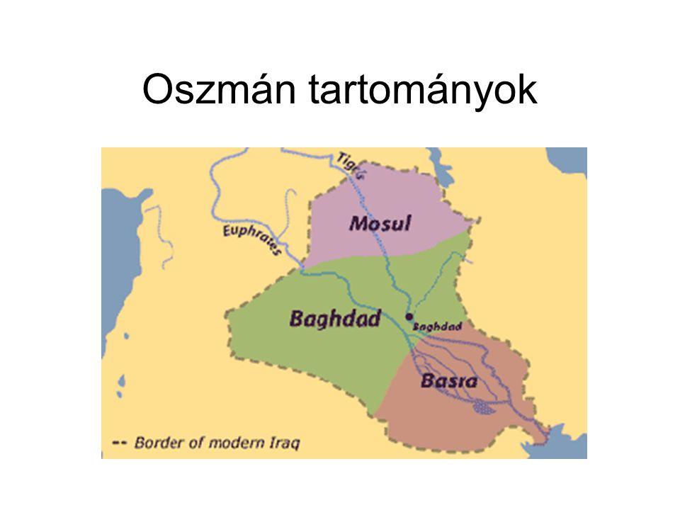 Oszmán tartományok