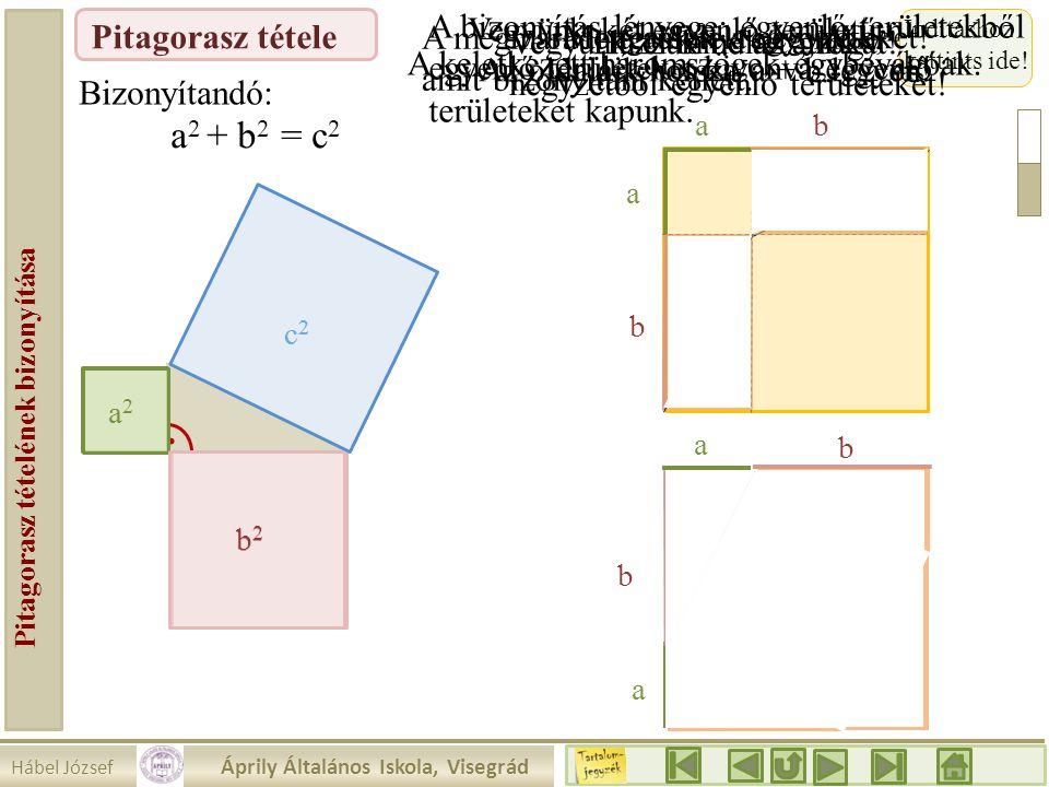 Pitagorasz tételének bizonyítása