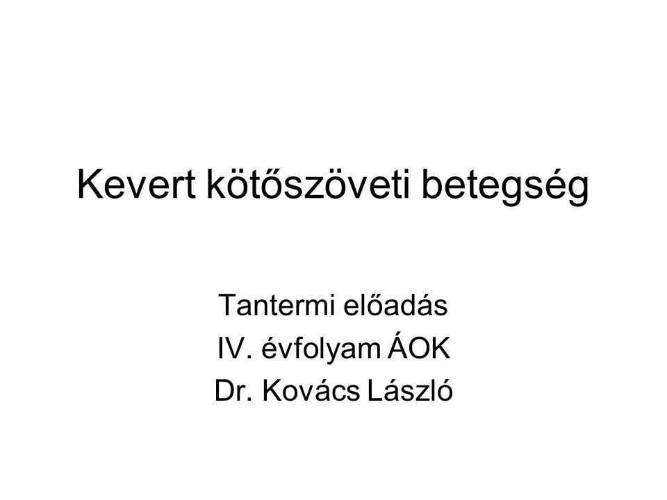 kötőszöveti betegség előadás)