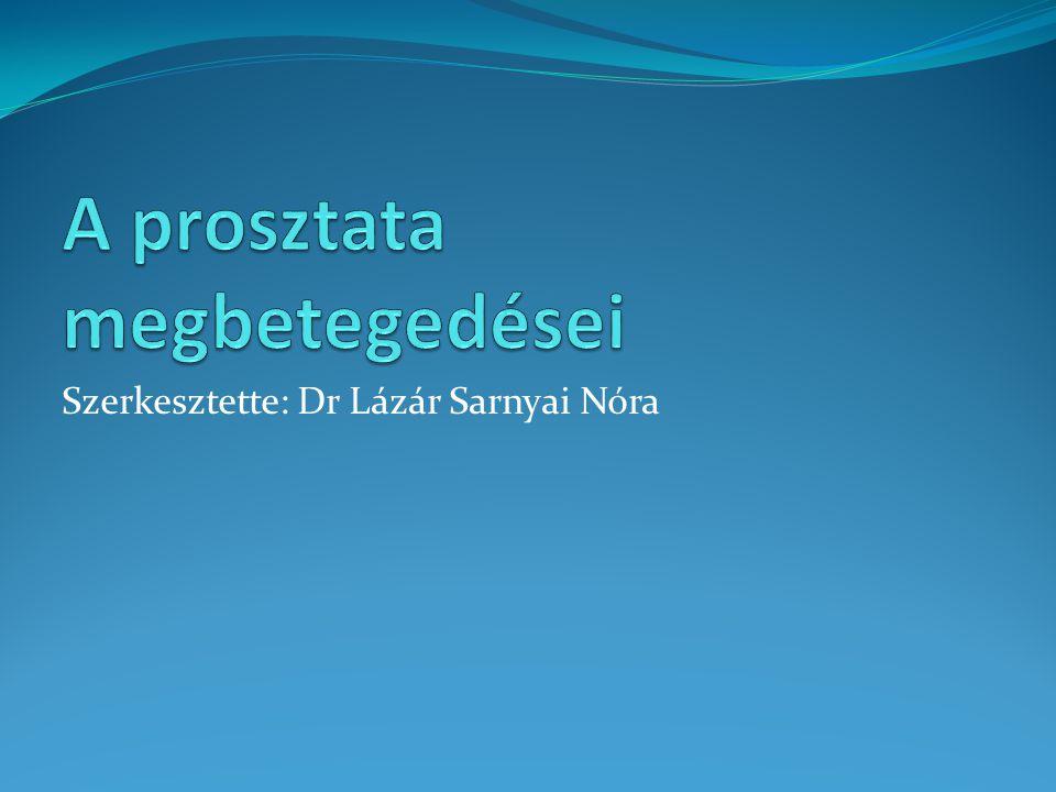 Prosztata előadás Vica fa és prostatitis