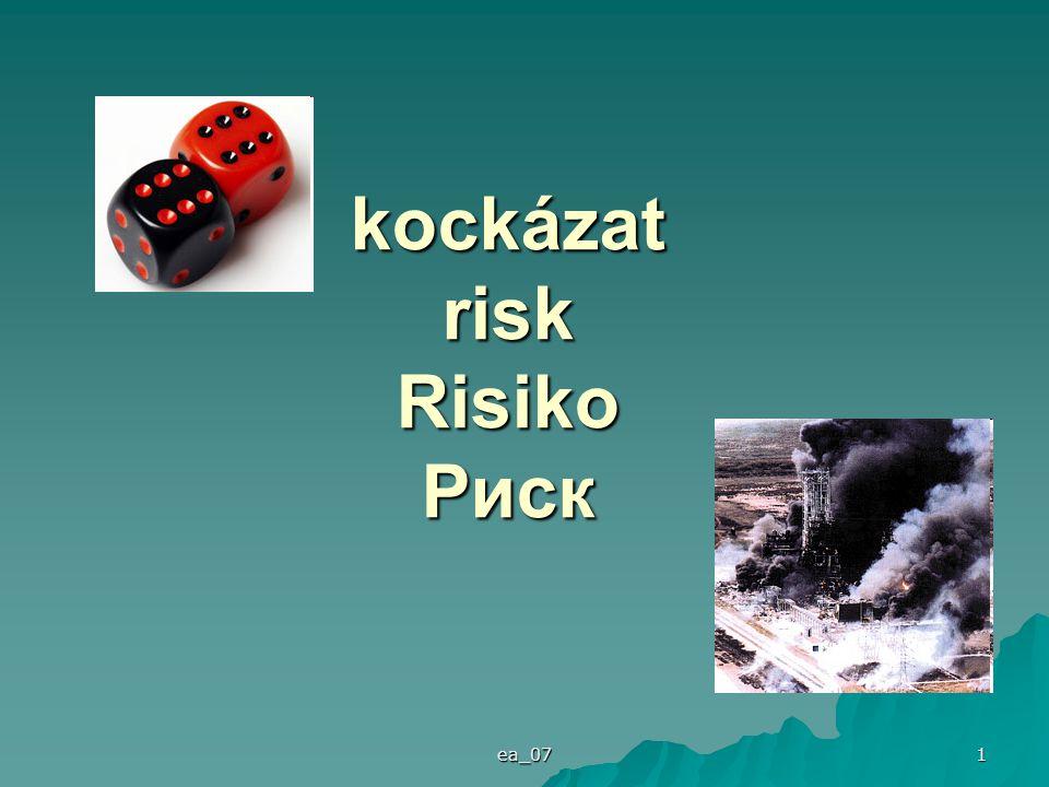 kockázat risk Risiko Риск - ppt letölteni