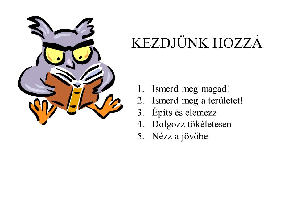ismerd meg a tökéletesen)
