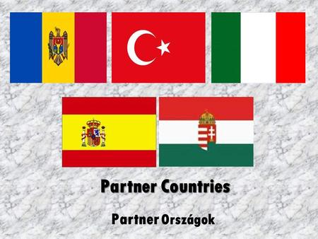 Partner Országok Partner Countries. Hungary Hungary is situated in Central Europe, in the Carpathian Basin. About ten million people live in Hungary.