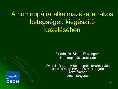 a homeopátia gyorsan fogy