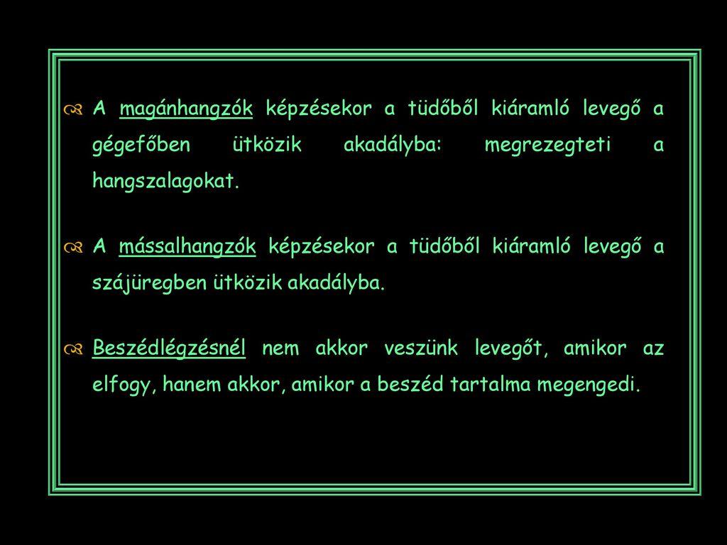Magyar abc magánhangzók