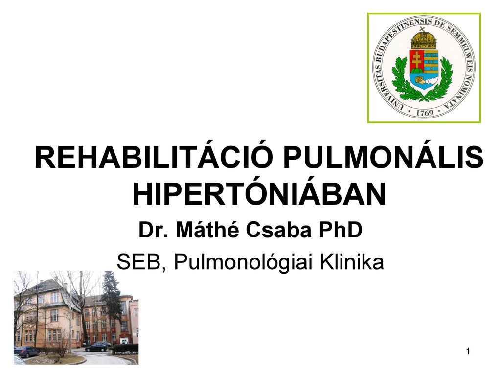 hipertónia rehabilitációs program