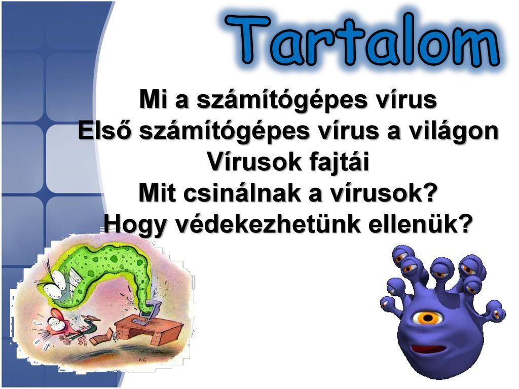 Vírusok az interneten