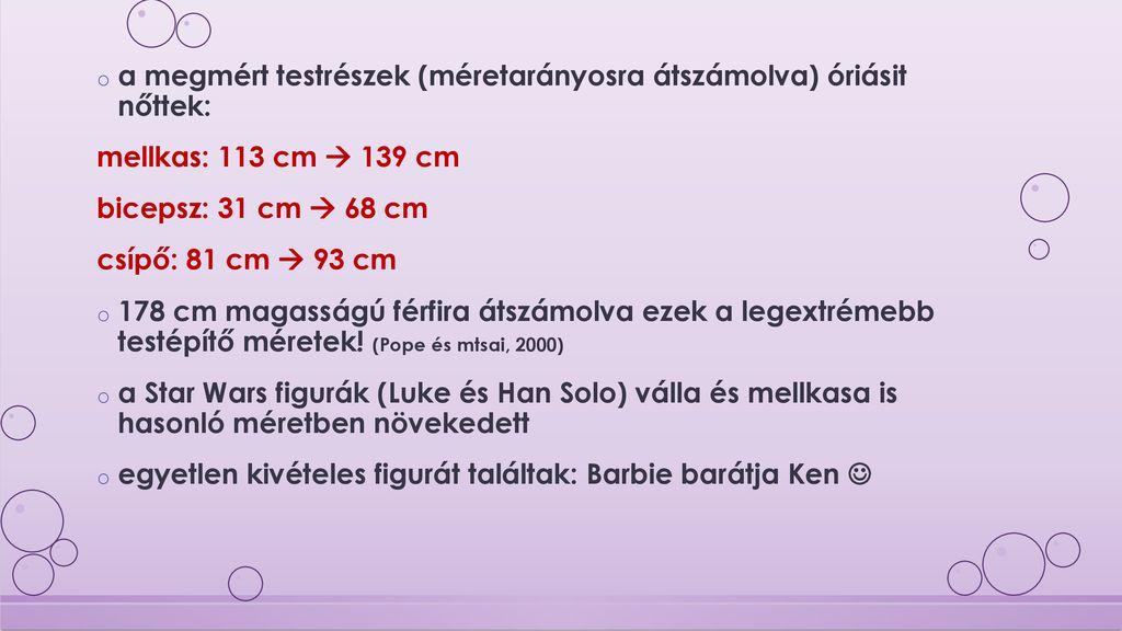 testsúlycsökkentő testrészek)