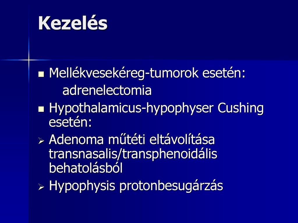 mellékvesekéreg adenoma tünetei
