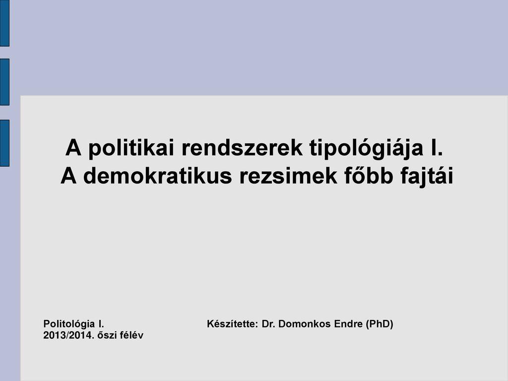 Parlamentáris rendszer fogalma