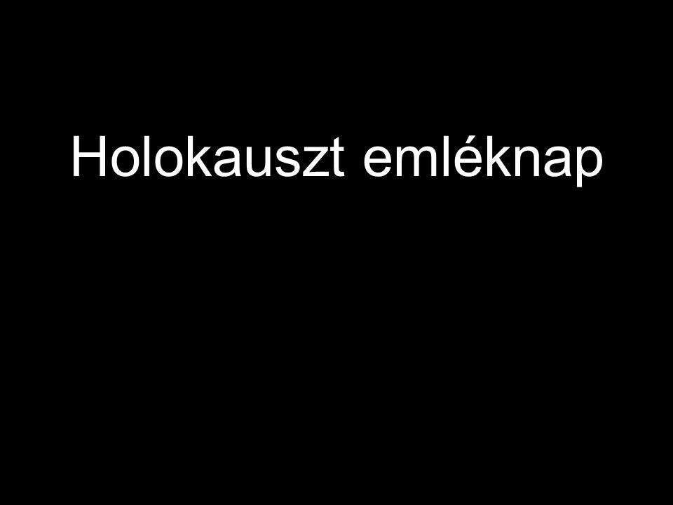 Holokauszt Emleknap