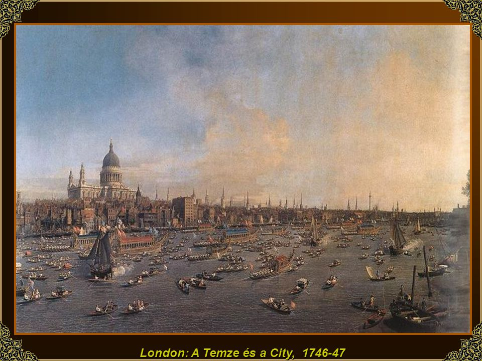 London: A Temze és a City,
