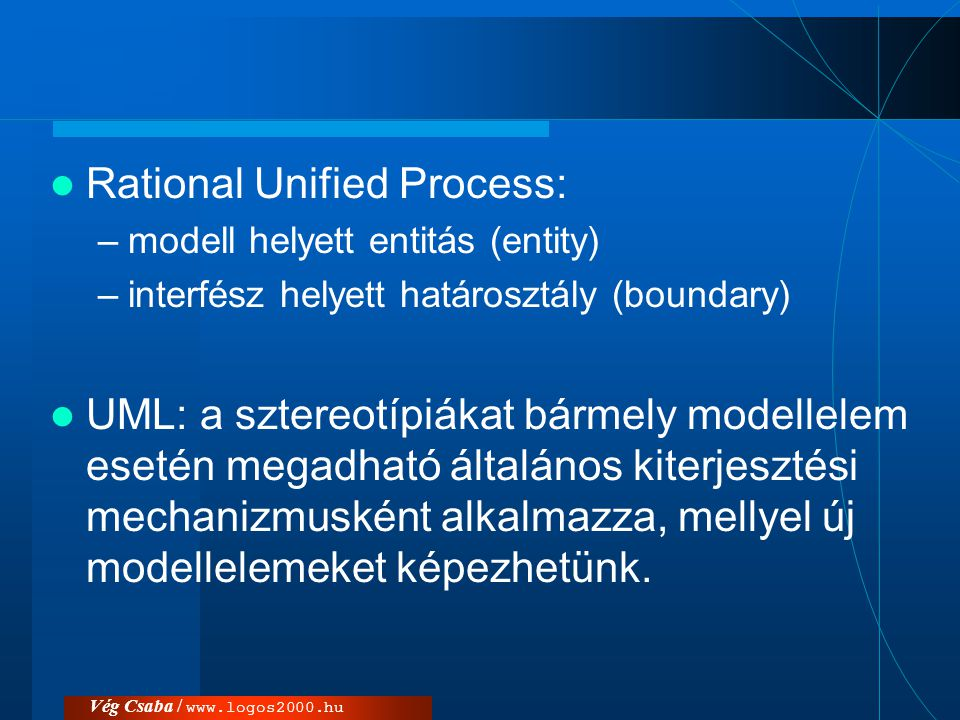 Rational Unified Process: