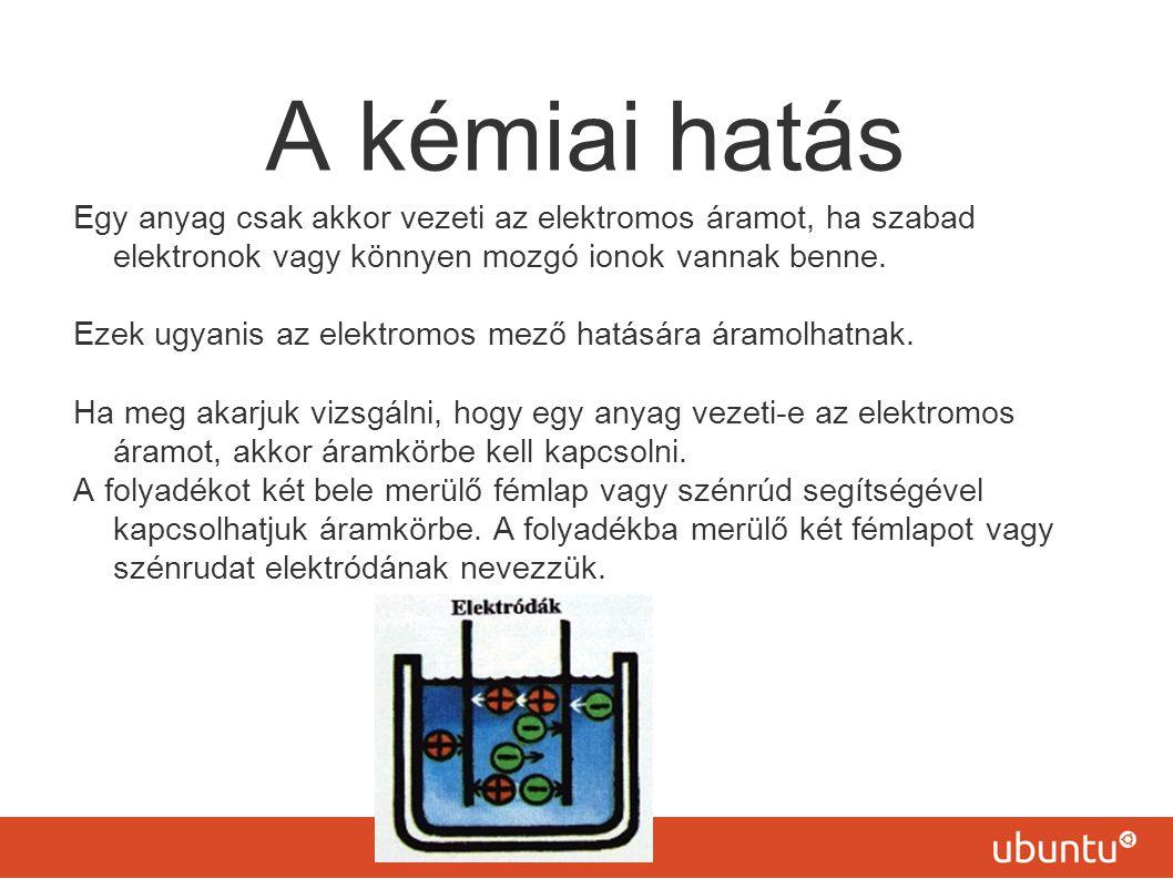 Elektromos áram hatásai