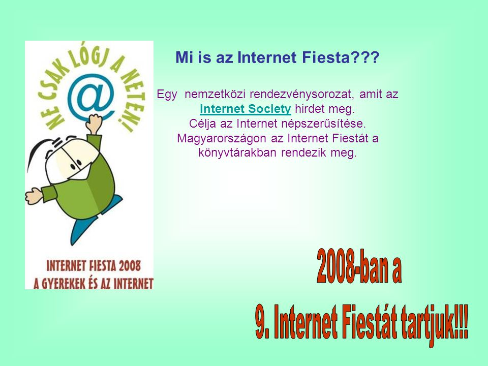 Mi is az Internet Fiesta