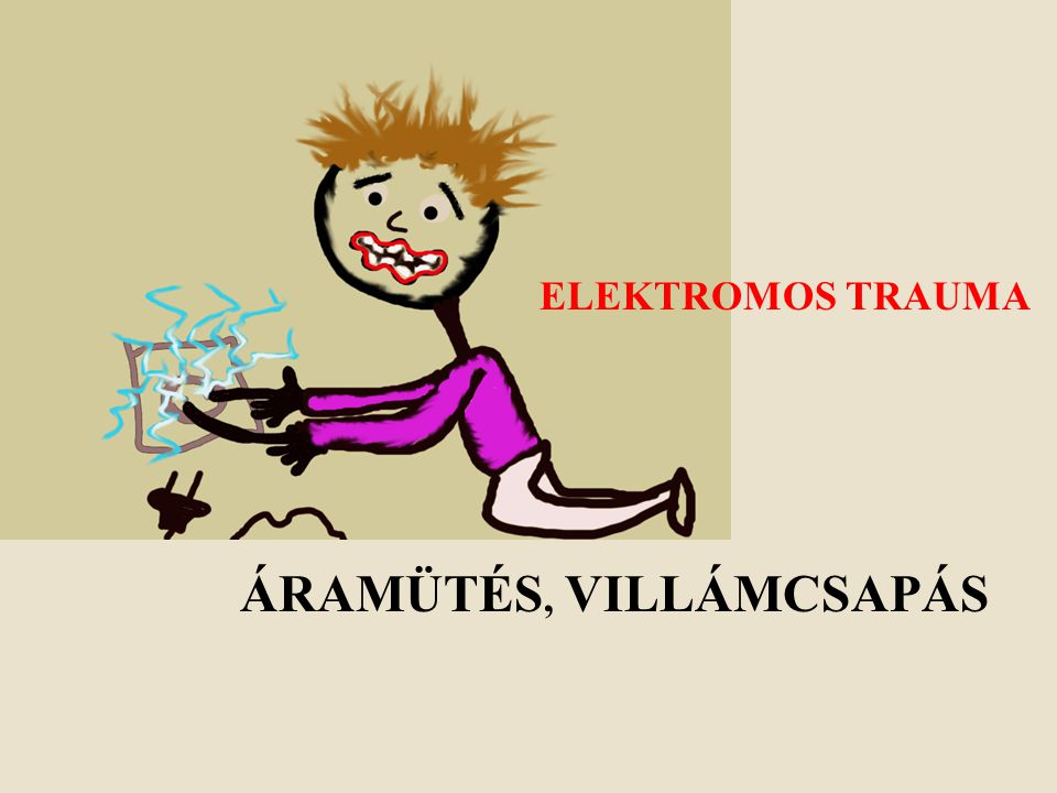Az elektromos áram veszélyei