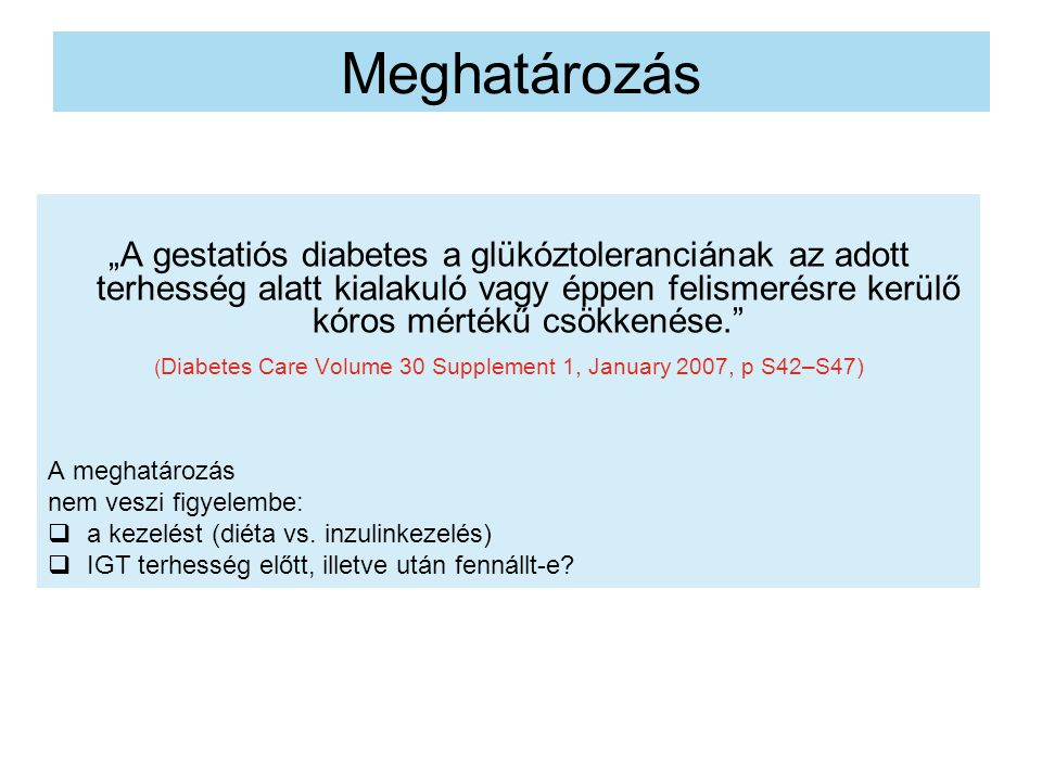 (Diabetes Care Volume 30 Supplement 1, January 2007, p S42–S47)