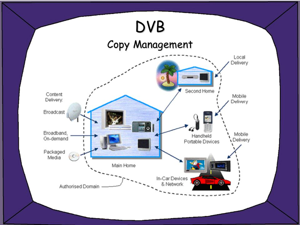 DVB Copy Management