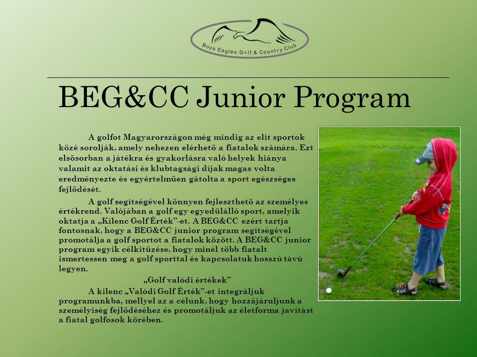 BEG&CC Junior Program