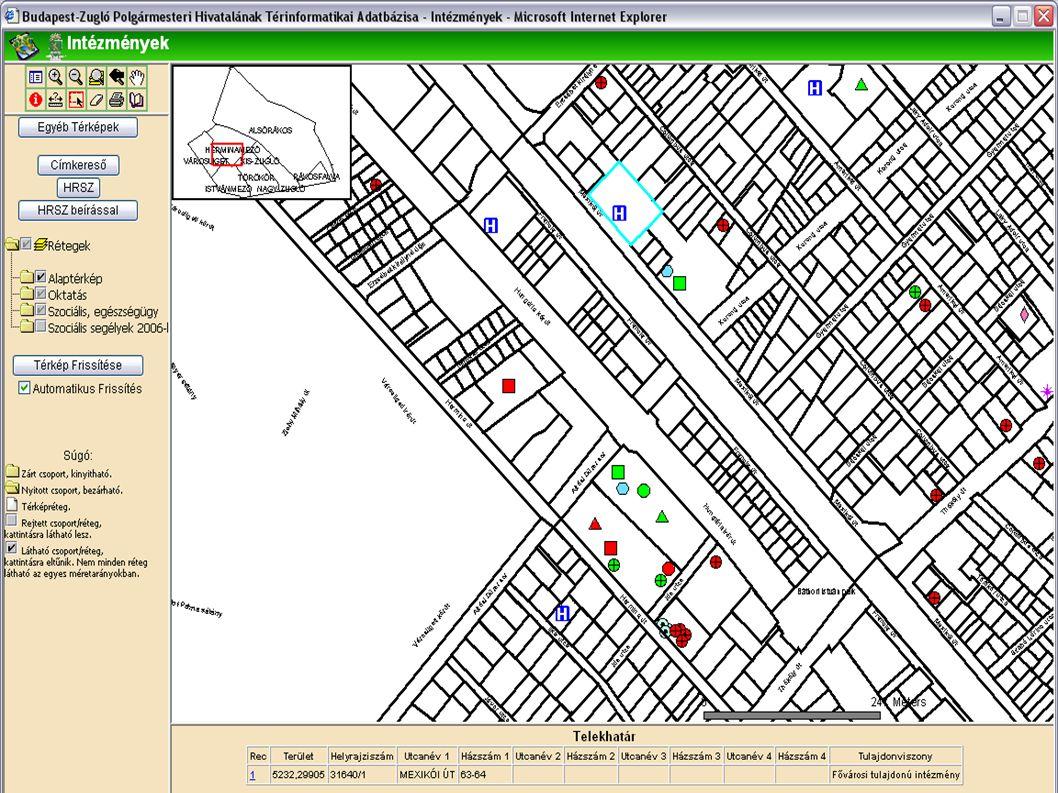 helyrajzi szám térkép budapest Bakos Károly ESRI Magyarország   ppt letölteni helyrajzi szám térkép budapest