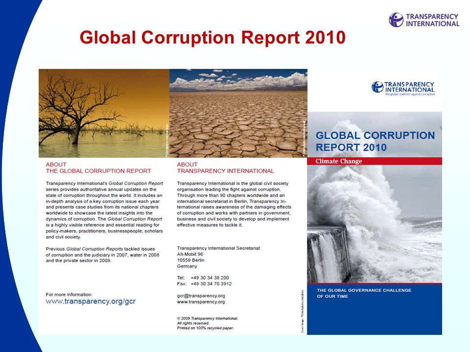 Global Corruption Report 2010