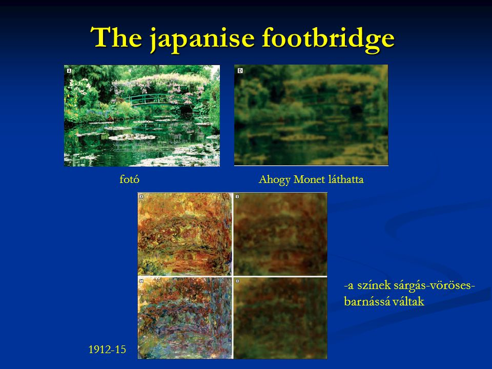 The japanise footbridge